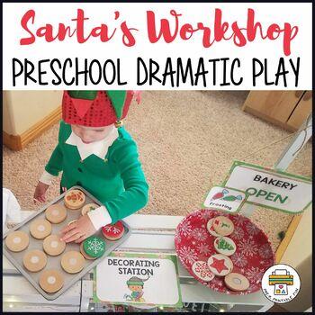 Santa's Workshop Dramatic Play Pack