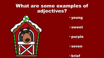 North Pole Fun With Adjectives - A PowerPoint Game