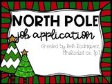North Pole Job Application  #thankful4u