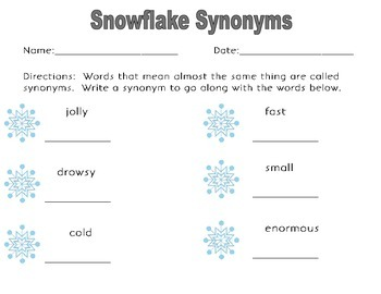North Pole Language/Literacy Worksheets