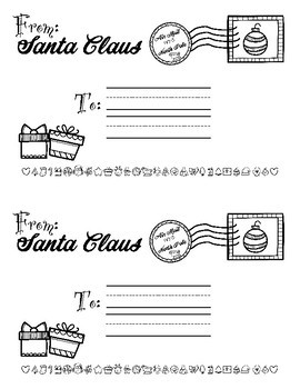 North Pole Mail - Letters to Santa