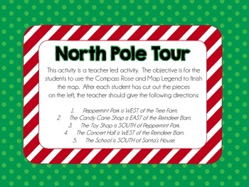 North Pole Map Adventures