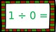 North Pole Math: Division (Facts 0-2)
