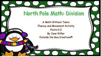 North Pole Math: Division (Facts 0-2) PDF Version
