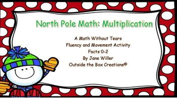 North Pole Math: Multiplication (Facts 0-2) PDF Version