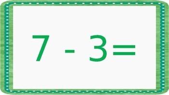 North Pole Math: Subtraction(Growing Bundle)