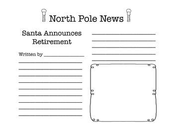 North Pole News Creative Writing