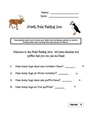 North Pole Petting Zoo:Multiplication Concepts Assessment for Common Core