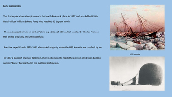 North Pole - Power Point history facts information pictures