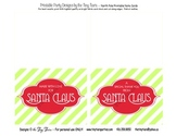 North Pole Printable Folding Note Cards :: Printable Desig
