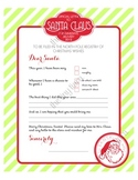 North Pole Printable Letter TO Santa :: Printable Designs by THE PAPER DOLL