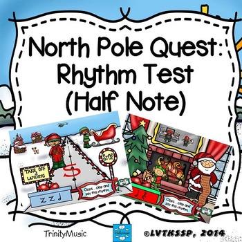 North Pole Quest: Rhythm Test (Half Note)
