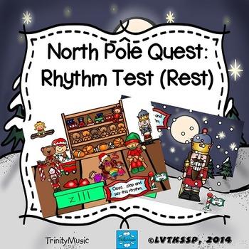 North Pole Quest: Rhythm Test (Rest)