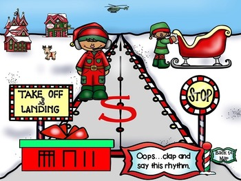 North Pole Quest: Rhythm Test (Sixteenth Notes)
