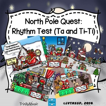 North Pole Quest: Rhythm Test (Ta and Ti-Ti Review)