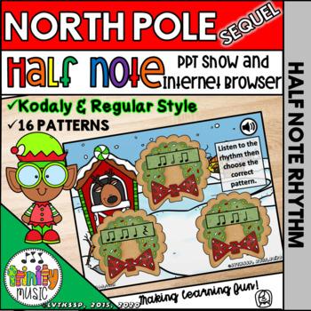 North Pole Quest: The Sequel (Half Note)