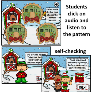 North Pole Quest: The Sequel (Sixteenth Notes)