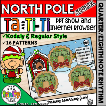 North Pole Quest: The Sequel (Ta and Ti-Ti)