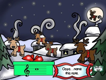 North Pole Quest: Treble Clef Test