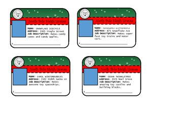 North Pole Sleigh License