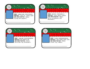 North Pole Sleigh License