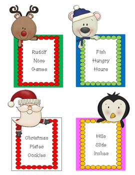 North Pole Story Problem Starters~ CCSS Bonus Ideas Included!