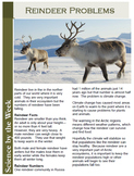 North Pole and Reindeer Science:   Leveled Informational Texts