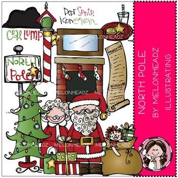 North Pole clip art - by Melonheadz