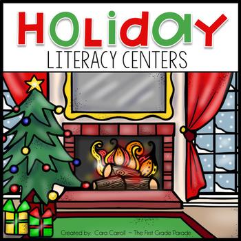 December Math & Literacy Centers