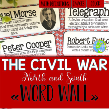 North and South Word Wall