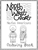 North West Coast Native Americans Coloring Book worksheets