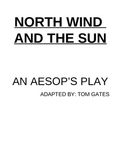North Wind and the Sun adapted Aesop's Fable