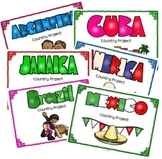 North and South America Project Bundle for Geography