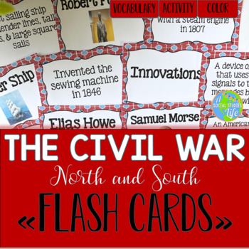 North and South Flash Cards