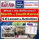 North Korea & South Korea - What's the Difference? 5E Lesson & Activities