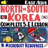 North Korea vs South Korea 5-E Lesson | Compare - What's the Difference?