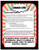 North and South Quiz and Test Common Core Writing and Literacy