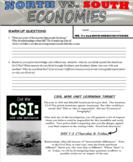 North vs. South Economies (Civil War)