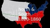 North vs. South (Pre Civil War)
