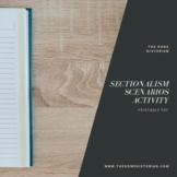 North vs. South Sectionalism Scenarios