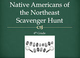 Northeast Native Americans Scavenger Hunt