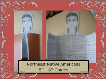 Northeastern Woodland Indians: Interactive Notebook & Research (5th - 8th Grade)