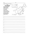 Northeast Region Fill In Worksheet