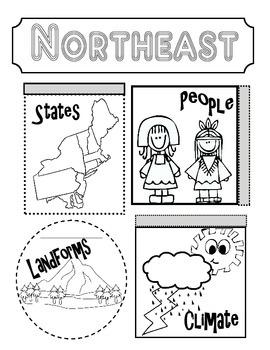 Northeast Region Interactive Notebook