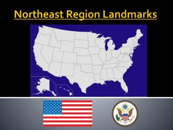 Northeast Region Landmarks PowerPoints