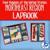 Northeast Region Lapbook or Interactive Notebook {Four Regions}