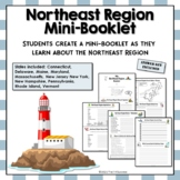 Northeast Region Unit Activity Booklet or Interactive Notebook Lesson Worksheets