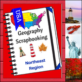 Northeast Region Scrapbooking Pages - United States Geography