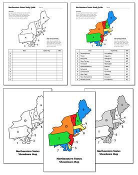 Northeast Region Showdown   States and Capitals Game