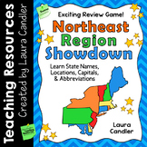 Northeast Region Showdown | States and Capitals Game